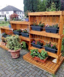 Inexpensive DIY Planter with Pallet 20