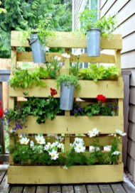 Inexpensive DIY Planter with Pallet 44