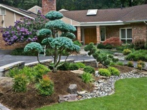 Most Amazing Front Yard and Backyard Landscaping Ideas 55
