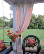 Outdoor Curtain Ideas to Spice Up Your Outdoor Space 04