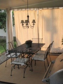 Outdoor Curtain Ideas to Spice Up Your Outdoor Space 10