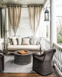 Outdoor Curtain Ideas to Spice Up Your Outdoor Space 22