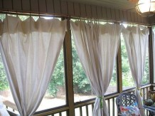 Outdoor Curtain Ideas to Spice Up Your Outdoor Space 24