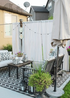 Outdoor Curtain Ideas to Spice Up Your Outdoor Space 31