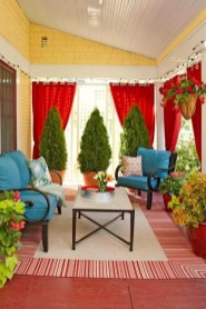 Outdoor Curtain Ideas to Spice Up Your Outdoor Space 38