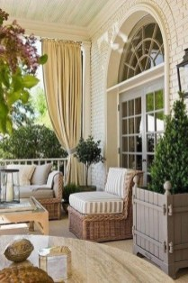 Outdoor Curtain Ideas to Spice Up Your Outdoor Space 41