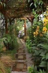 Stunning Garden Path and Walkways Design to Beautify Your Garden 02