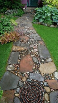 Stunning Garden Path and Walkways Design to Beautify Your Garden 15