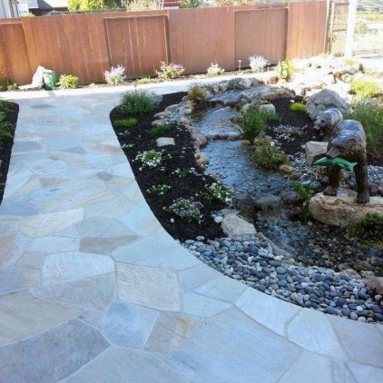 Stunning Garden Path and Walkways Design to Beautify Your Garden 24