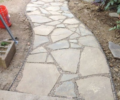 Stunning Garden Path and Walkways Design to Beautify Your Garden 70