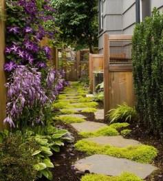 Stunning Garden Path and Walkways Design to Beautify Your Garden 73