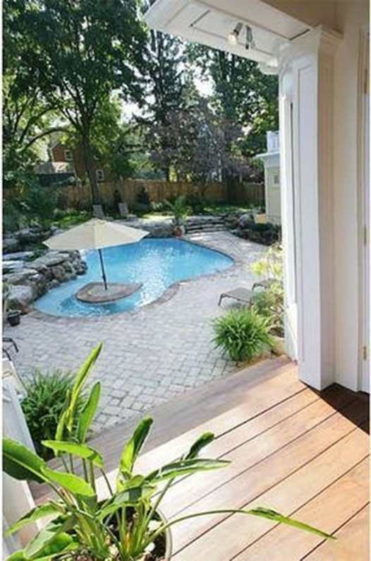 Top Trends Small Pools for Your Backyard 35