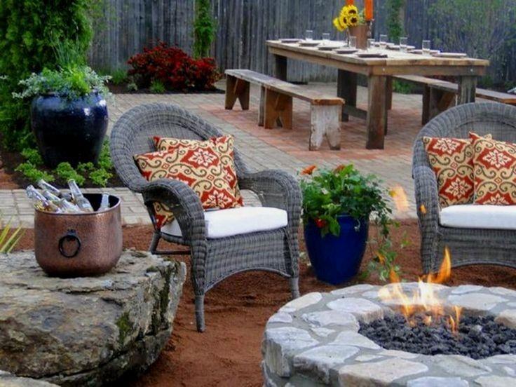 Wonderful Outdoor Firepit Ideas 11