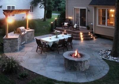 Wonderful Outdoor Firepit Ideas 13