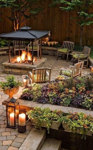 Wonderful Outdoor Firepit Ideas 22