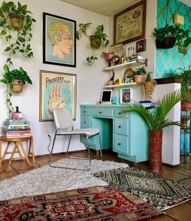 47 Interior Design 2019 for Decorating Your Comfortable Home Office 02