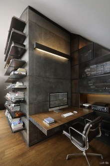 47 Interior Design 2019 for Decorating Your Comfortable Home Office 04