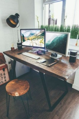 47 Interior Design 2019 for Decorating Your Comfortable Home Office 09