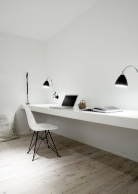 47 Interior Design 2019 for Decorating Your Comfortable Home Office 25