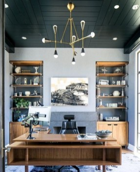 47 Interior Design 2019 for Decorating Your Comfortable Home Office 43