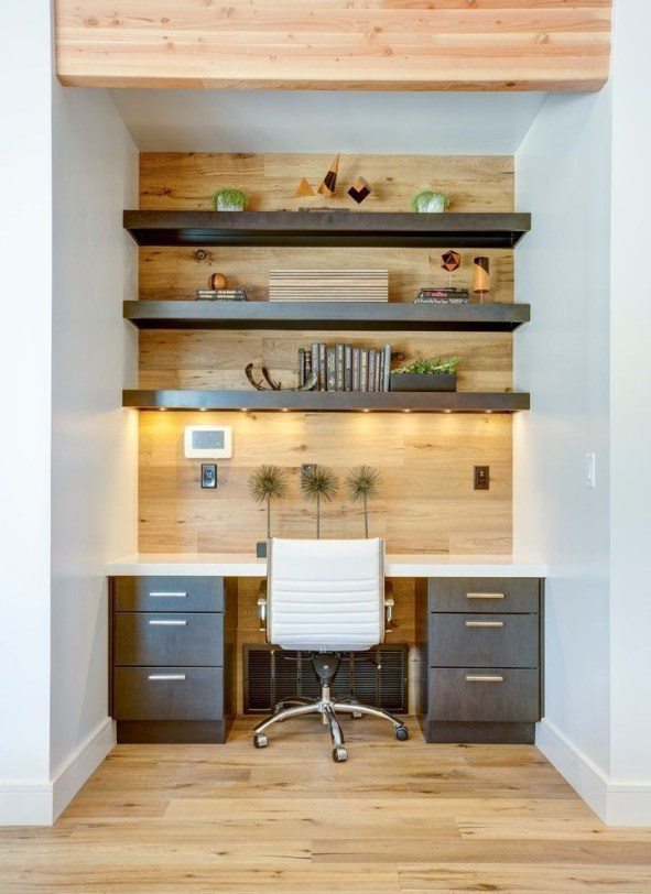 47 Interior Design 2019 for Decorating Your Comfortable Home Office 47