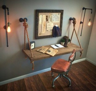 Amazing DIY Space-Saving Pallet Desk Ideas That You Must Try 11