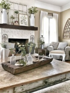 Amazing Rustic Farmhouse Decor Ideas on A Budget 11