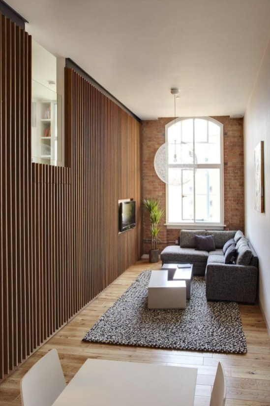 Amazing Small Living Room Design to Make Feel Bigger 34