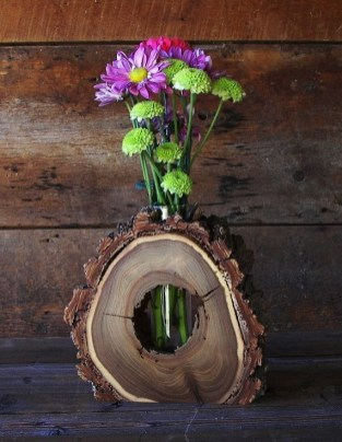 Beautiful Decorations for Your Wedding Decoration with Wooden Slices03