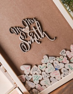 Beautiful Decorations for Your Wedding Decoration with Wooden Slices26