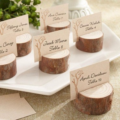 Beautiful Decorations for Your Wedding Decoration with Wooden Slices49