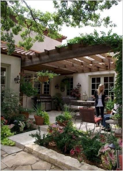 Beautiful Small Backyard Patio Ideas On A Budget 09
