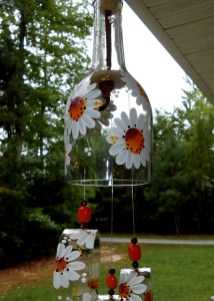 Charming Backyard Ideas Using an Empty Glass Bottle27