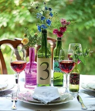Charming Backyard Ideas Using an Empty Glass Bottle32