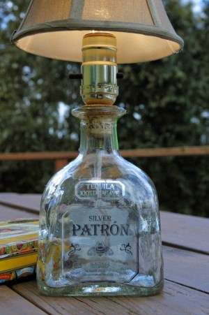 Charming Backyard Ideas Using an Empty Glass Bottle47