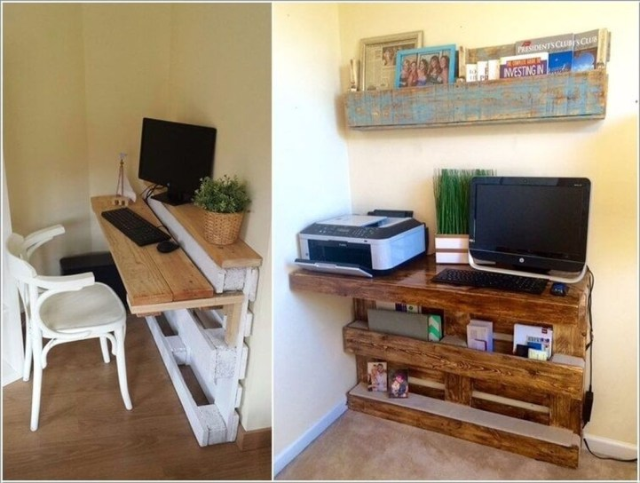 Creative DIY Desk Ideas That You Must try 08