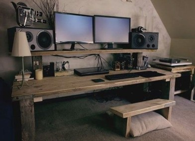 Creative DIY Desk Ideas That You Must try 29