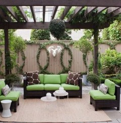 Fabulous DIY Projects To Make Small Backyard More Cozy 07