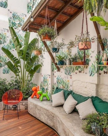 Fabulous DIY Projects To Make Small Backyard More Cozy 08