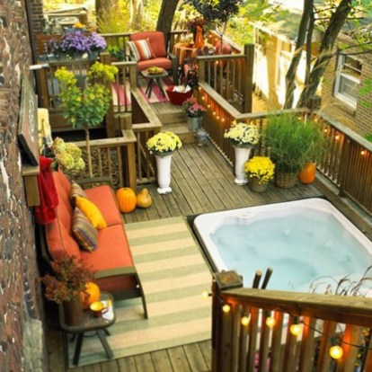 Fabulous DIY Projects To Make Small Backyard More Cozy 13