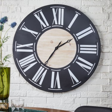 Gorgeous Wall Clock Decoration for Your Small Living Room11