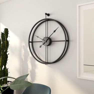 Gorgeous Wall Clock Decoration for Your Small Living Room31