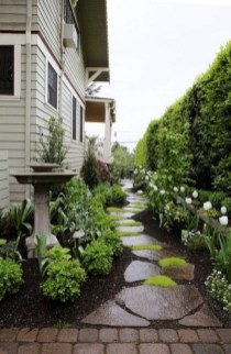 Most Amazing Side Yard Landscaping Ideas to Beautify Your Garden 39
