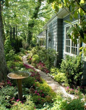 Most Amazing Side Yard Landscaping Ideas to Beautify Your Garden 53