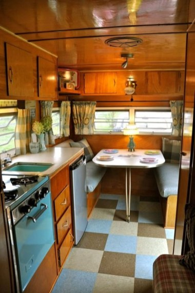 Perfect Travel Trailer Decorating To Make Your Trip Enjoyable 26