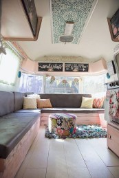 Perfect Travel Trailer Decorating To Make Your Trip Enjoyable 32