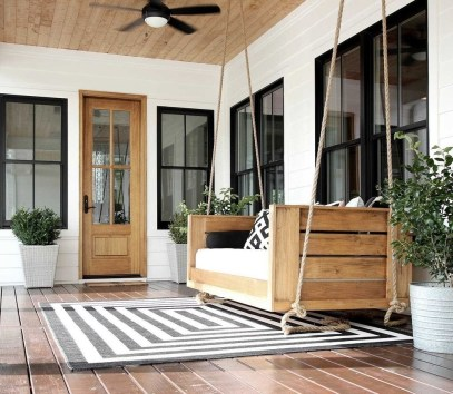 Porch Modern Farmhouse a Should You Try33