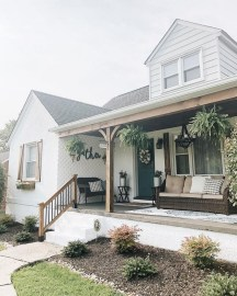 Porch Modern Farmhouse a Should You Try36