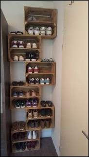 Simple and Cheap DIY Ideas to Organize Shoes That You Must Try 04