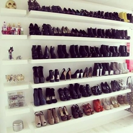 Simple and Cheap DIY Ideas to Organize Shoes That You Must Try 12
